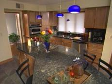 remodeling kitchen includes new granite counters