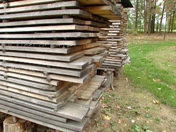 using salvaged wood is ultimate in recycling