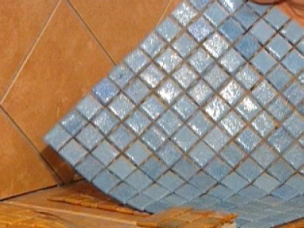 cut glass tile in width needed for window