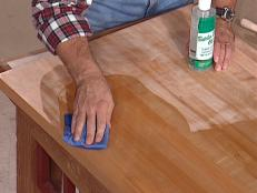tips to apply nontoxic finishes to wood