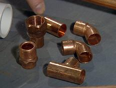 all copper pipe accepts the same fittings