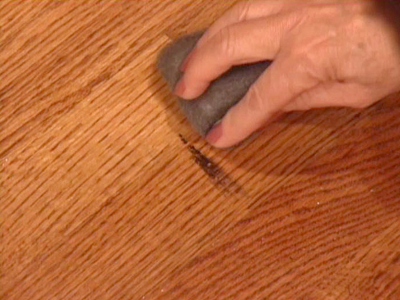 how to remove scratches from a polyurethane wood floor finish ask home design. Black Bedroom Furniture Sets. Home Design Ideas
