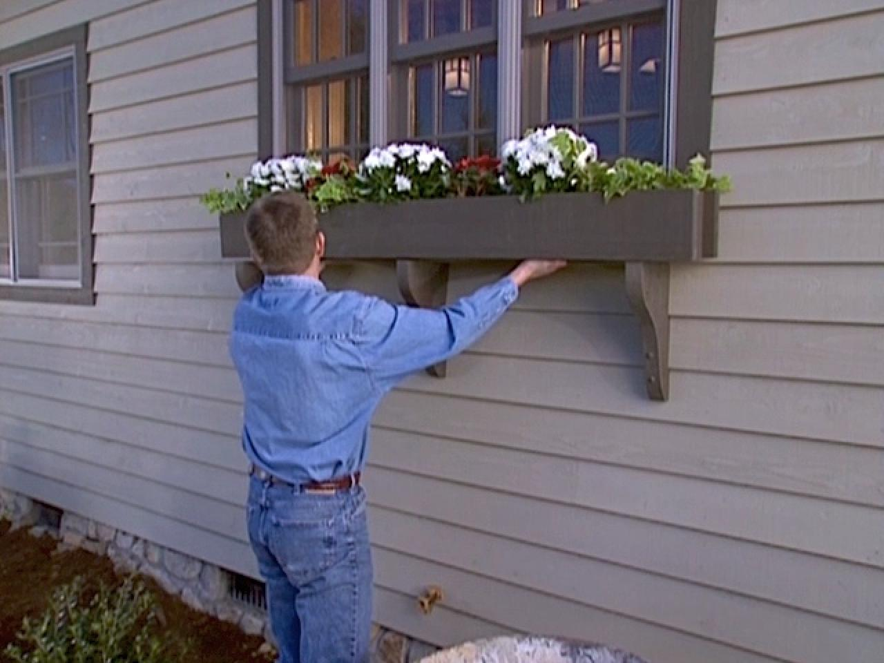 How To Build A Window Box Planter How Tos Diy