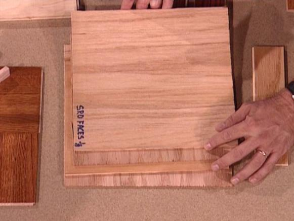 engineered floors are pressed layers of veneer