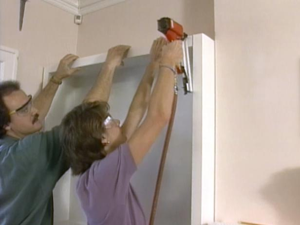 installing the nailer board