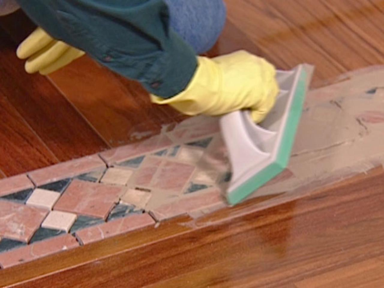 How to install wood look ceramic tile