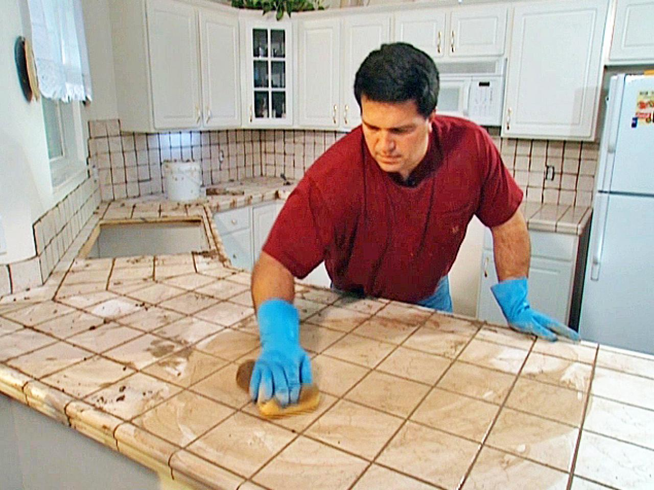 Tile Kitchen Countertops Install Tile Over Laminate Countertop And Backsplash How Tos Diy