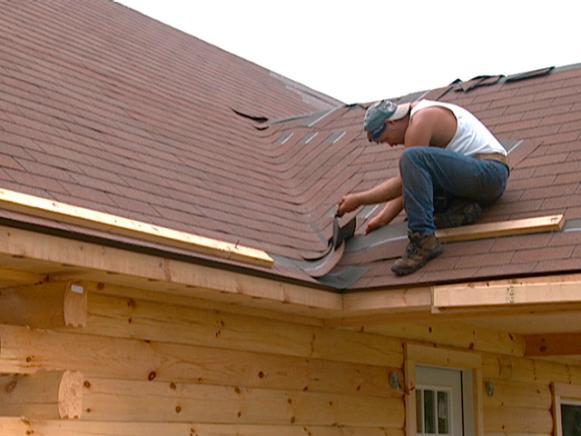 installing shingles in corner