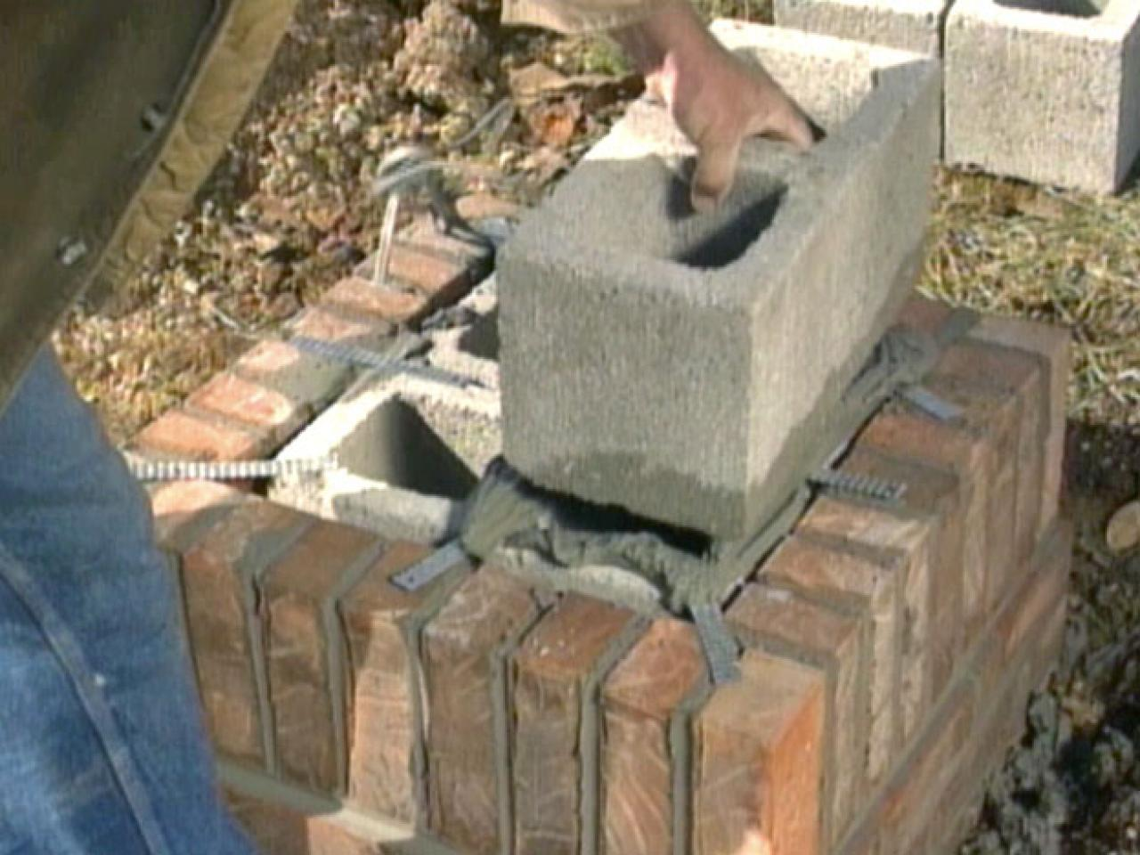 How To Build A Brick Mailbox How Tos Diy