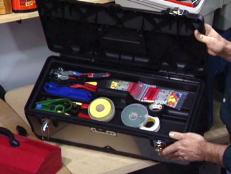 dedicate tool boxes for particular types of jobs