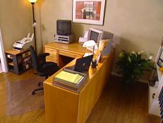 transform home office into organized space