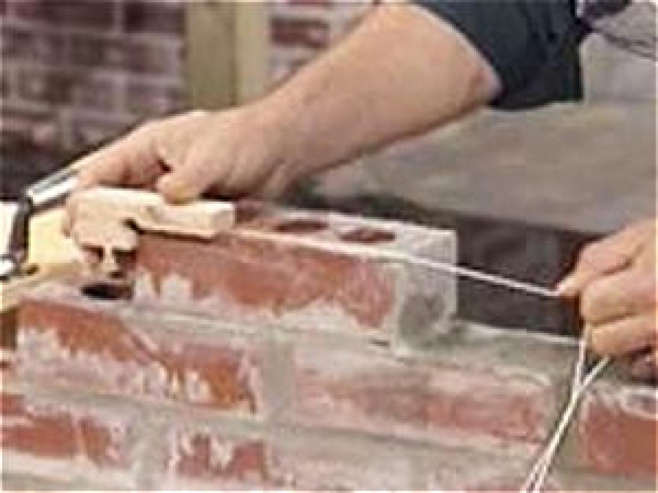 How To Lay Brick How Tos Diy