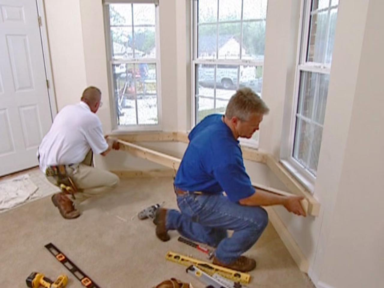 How To Build And Install A Window Seat How Tos Diy