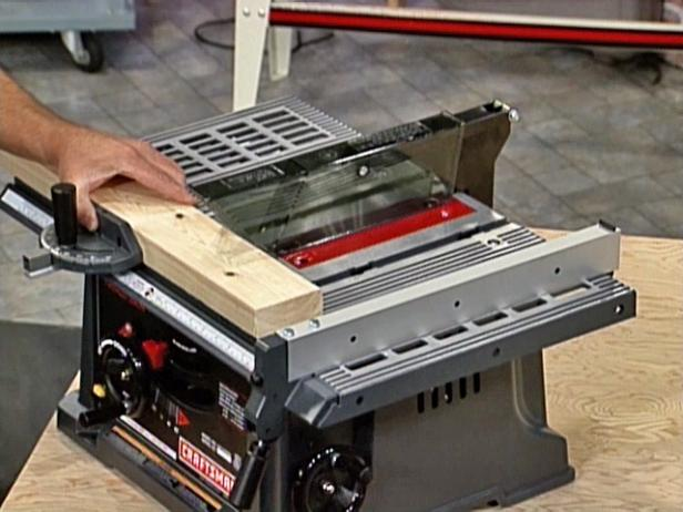 Table Saw Basics Diy