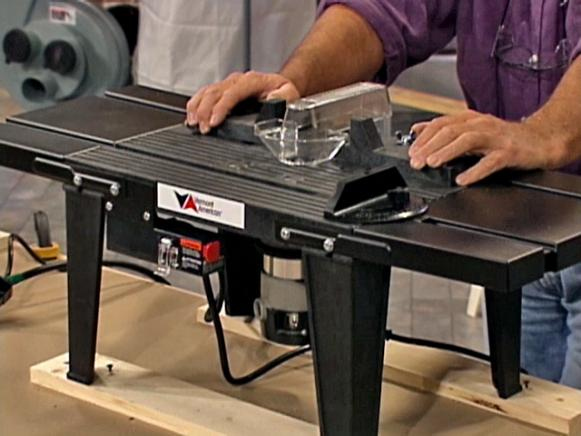 Tips on Using a Router Table