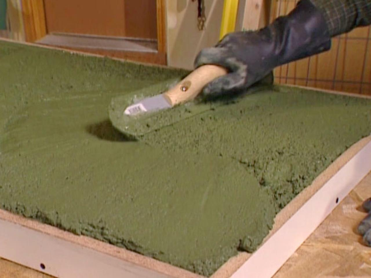 How To Build A Concrete Countertop How Tos Diy