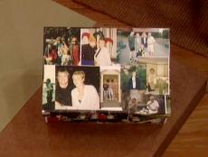 a keepsake photo box is good way to store memories