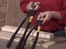 use bolt cutters to cut off locks