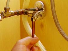 inspect water lines for kinks or corrosion