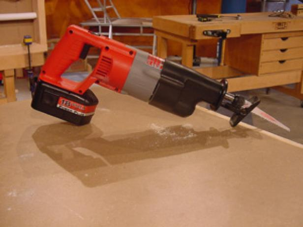 cordless reciprocating saw is great for outdoors