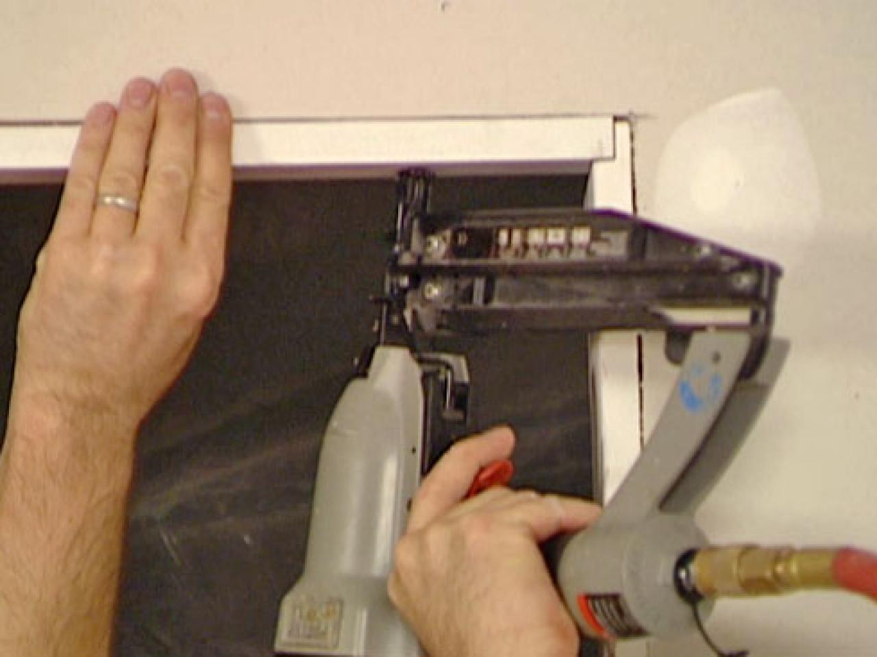 How to install a pocket door how tos diy cut and install trim around door vtopaller Choice Image