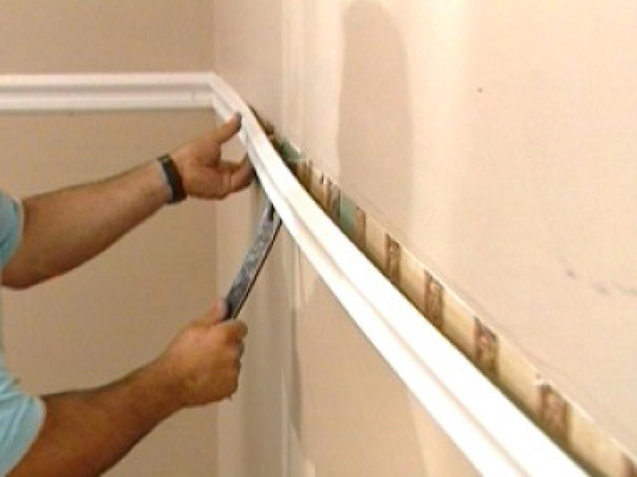 How To Install Custom Wainscoting In A Dining Room How