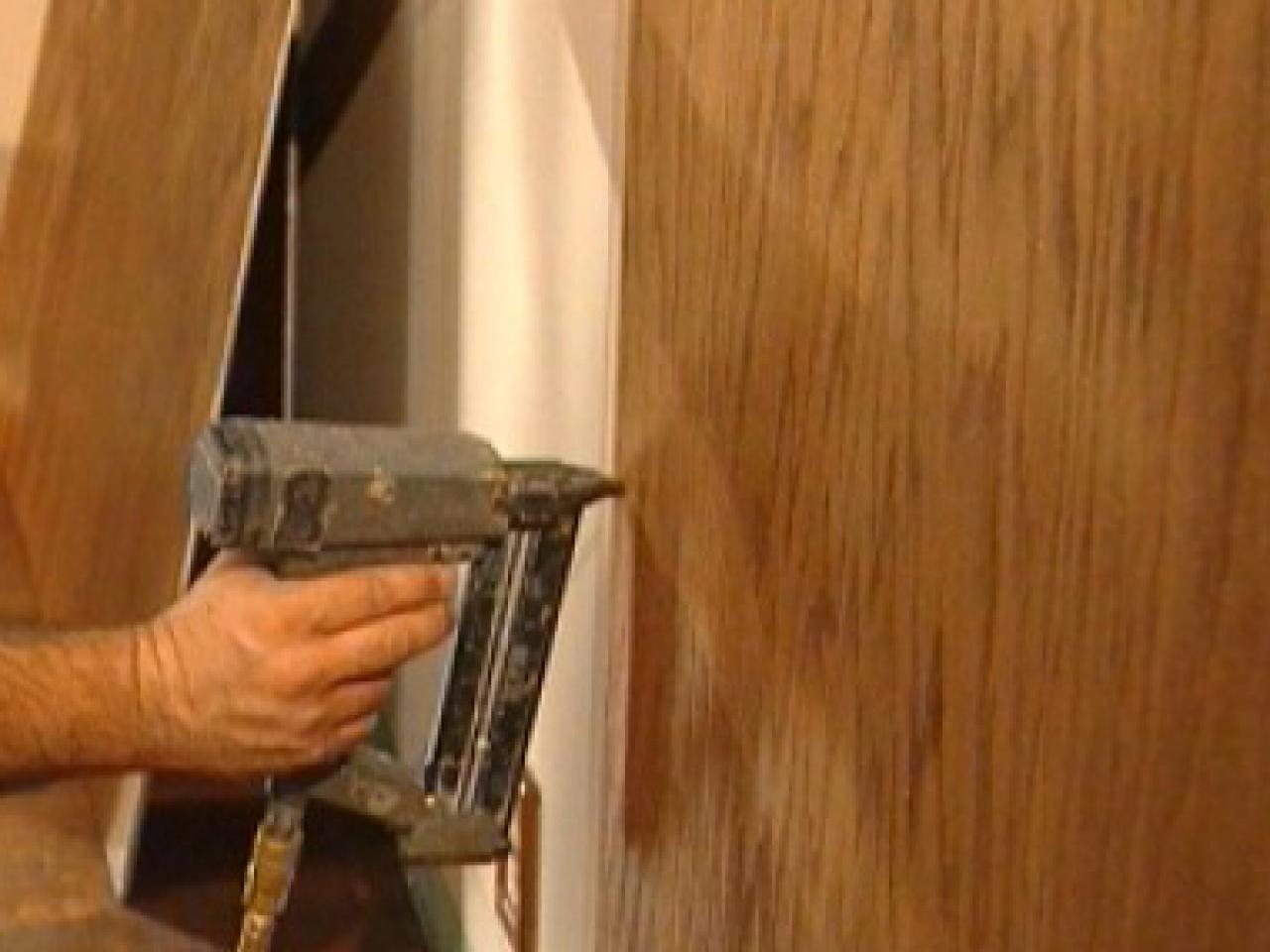 how to cut stain and install wainscoting panels how tos diy