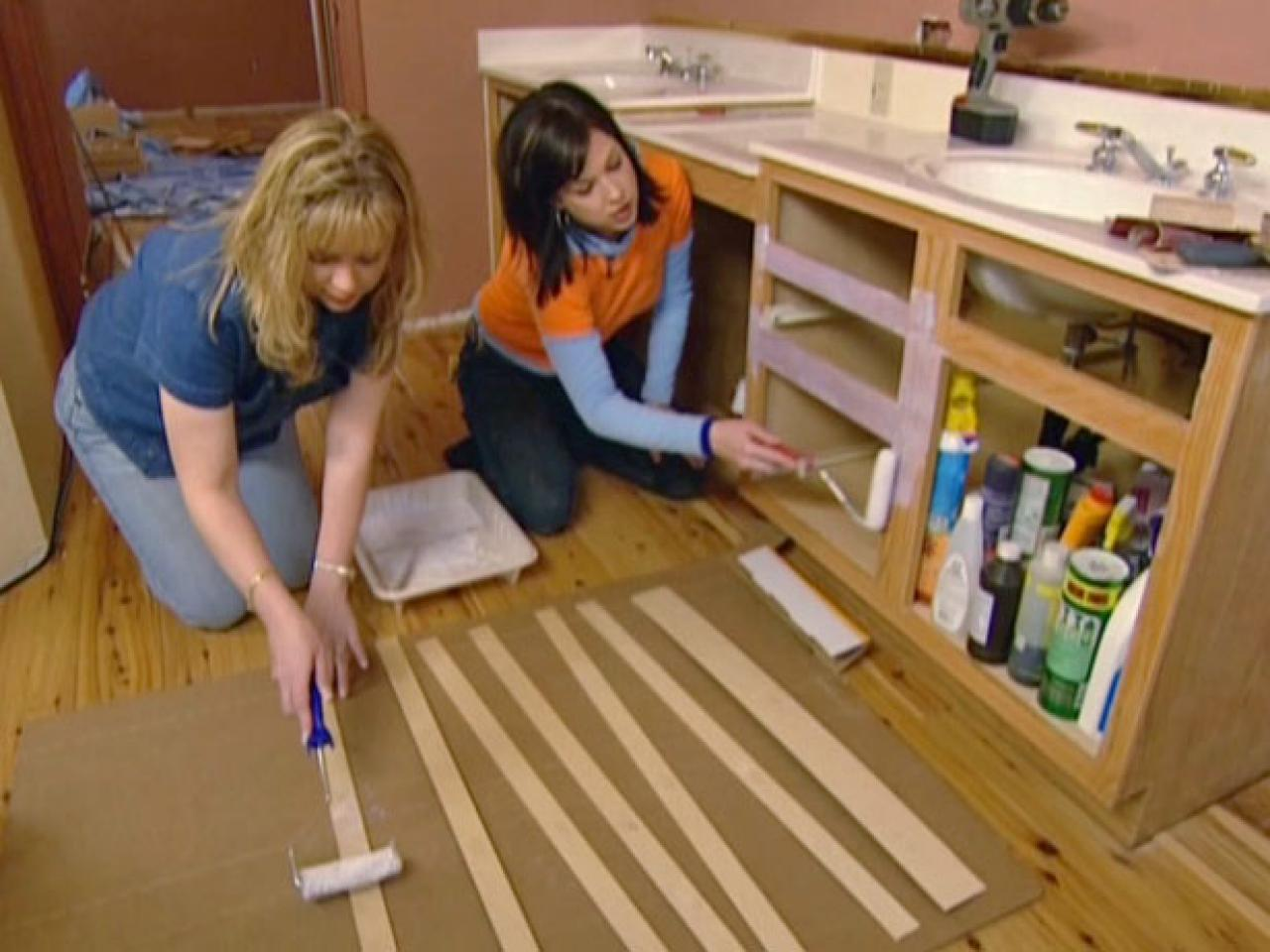 refacing bathroom cabinets how tos diy. Black Bedroom Furniture Sets. Home Design Ideas