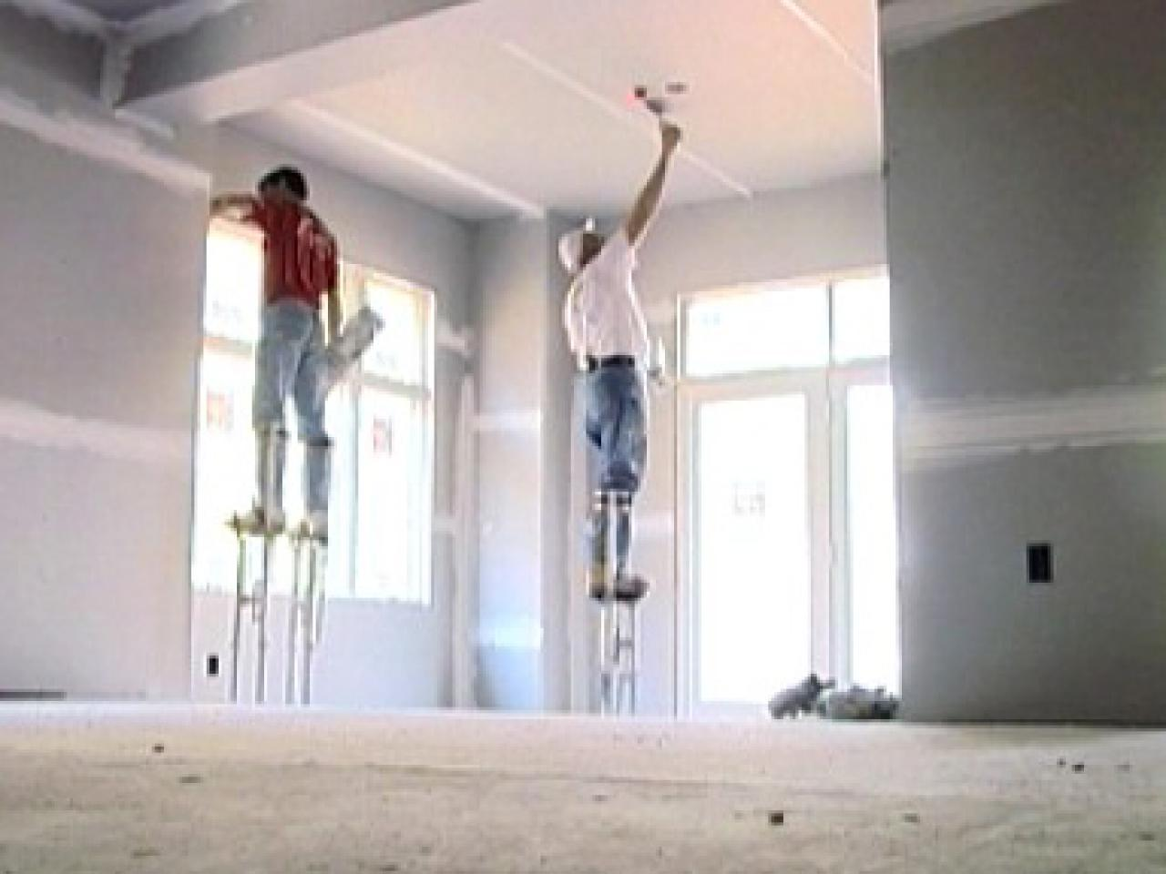 Drywall Gypsum Walls : Closing up the walls hanging drywall diy