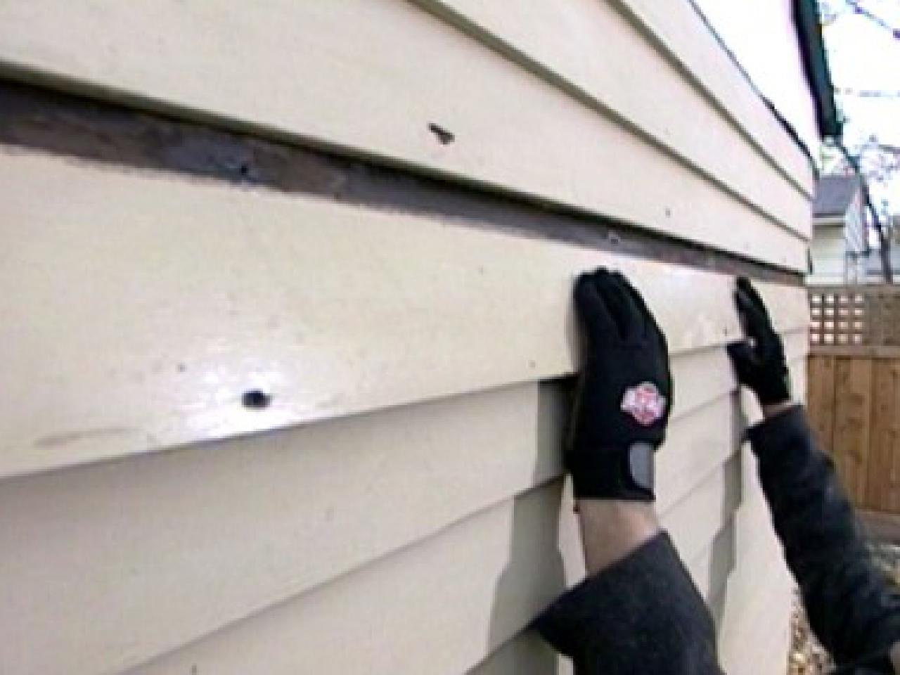 How To Repair And Replace Siding How Tos Diy