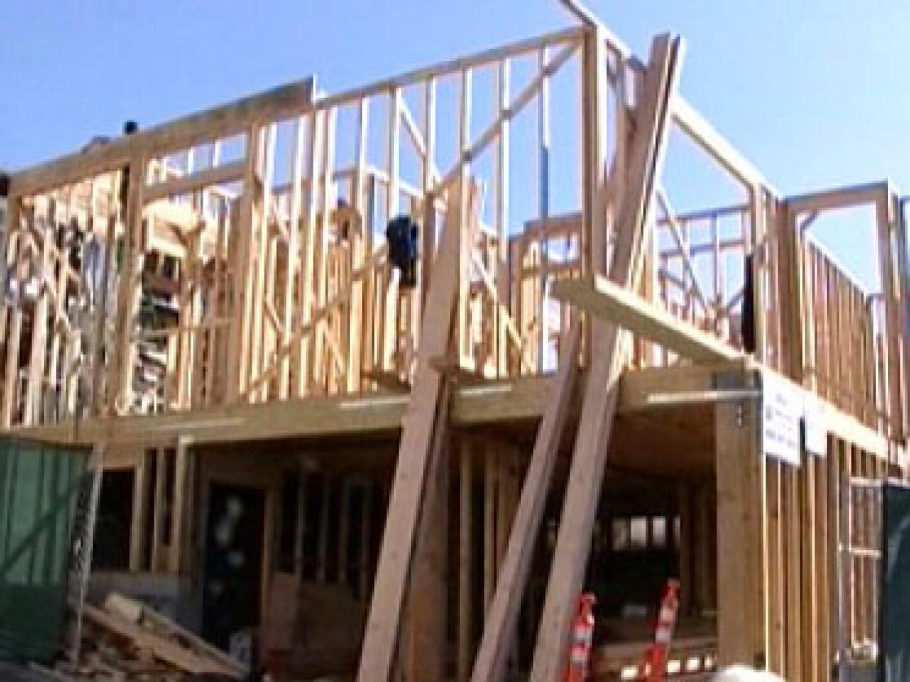 framing a single and two story story house