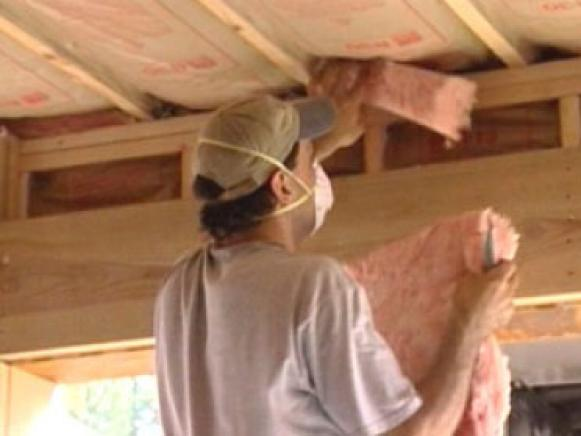 installing insulation correctly is important