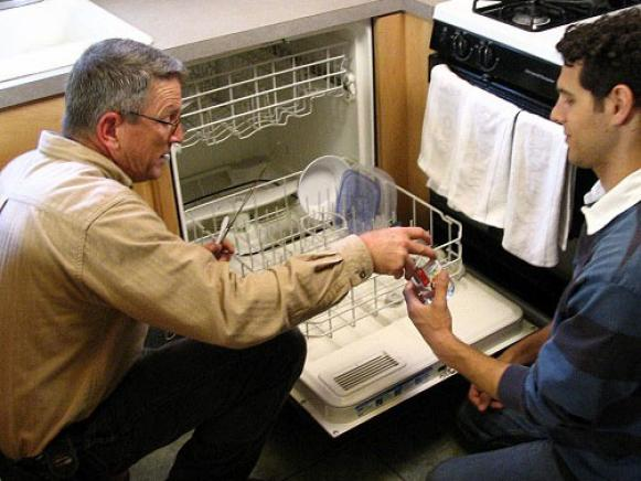 dishwasher and home maintenance tips