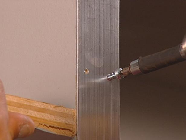 install chrome cover plates to electrical outlets