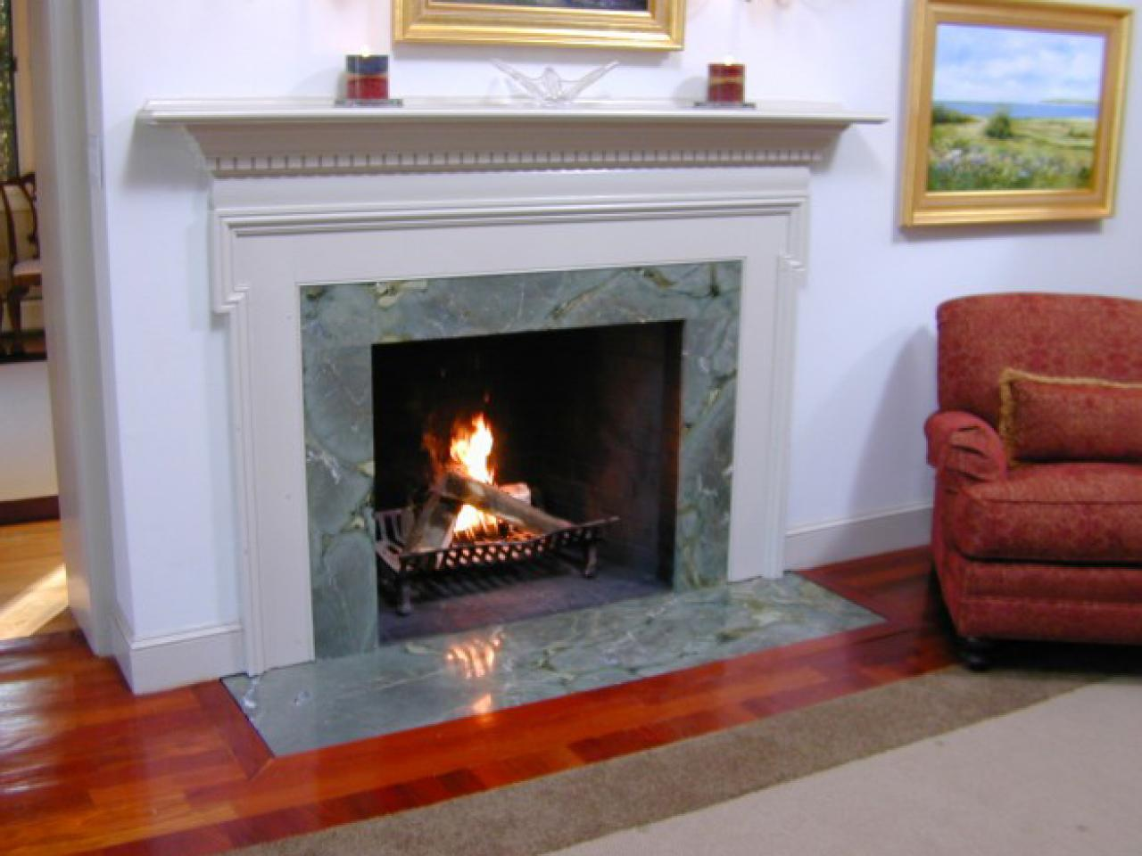 tips for buying and installing a new fireplace surround diy