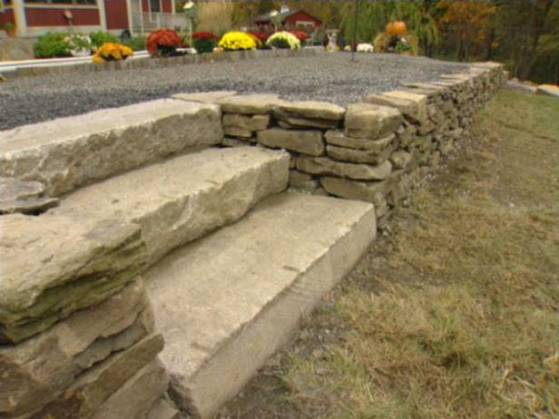 How to Build a Dry-Stack Stone Retaining Wall