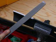sharpened blade will give yard an even cut