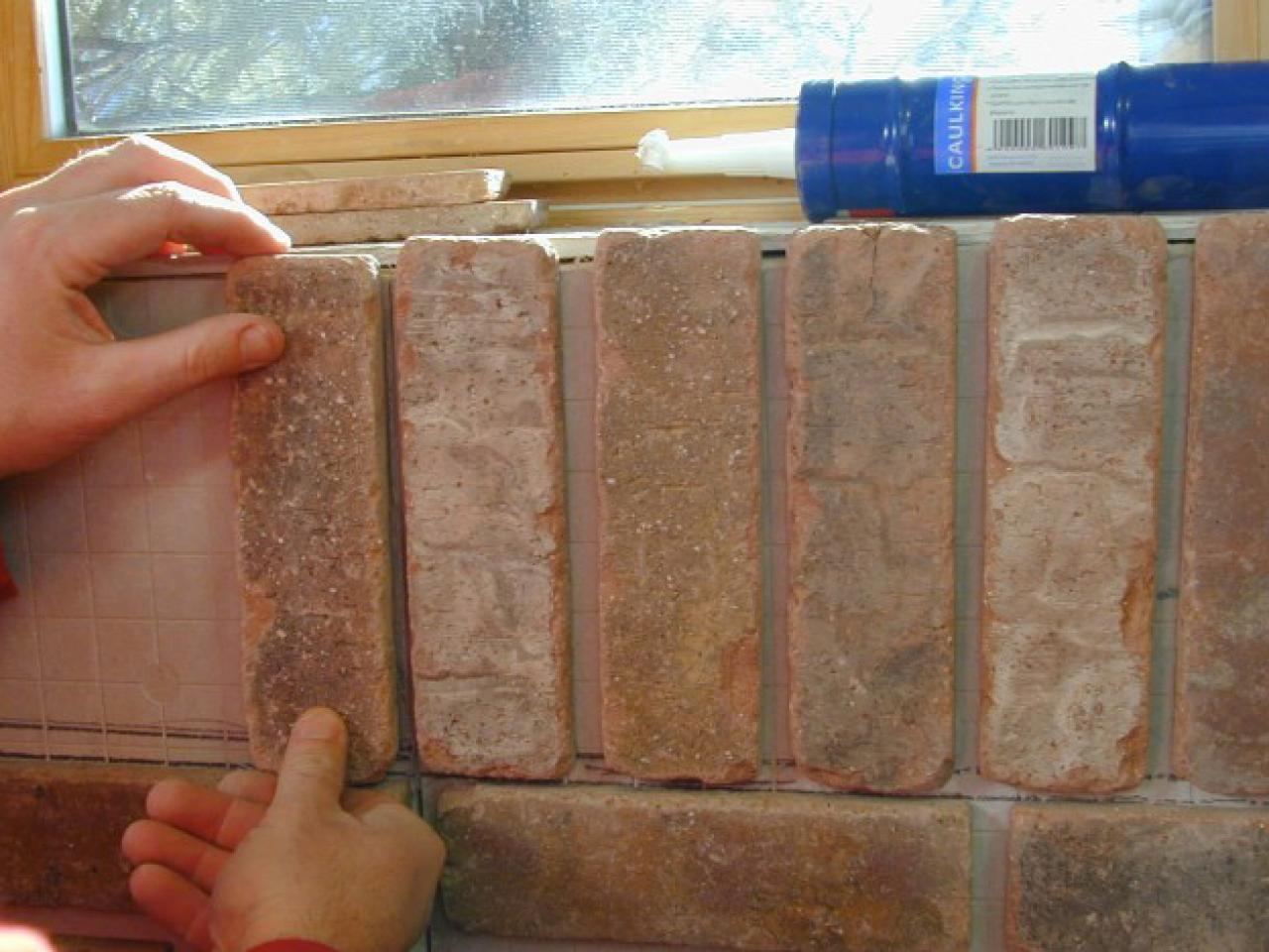 how to install interior brick veneer how tos diy. Black Bedroom Furniture Sets. Home Design Ideas