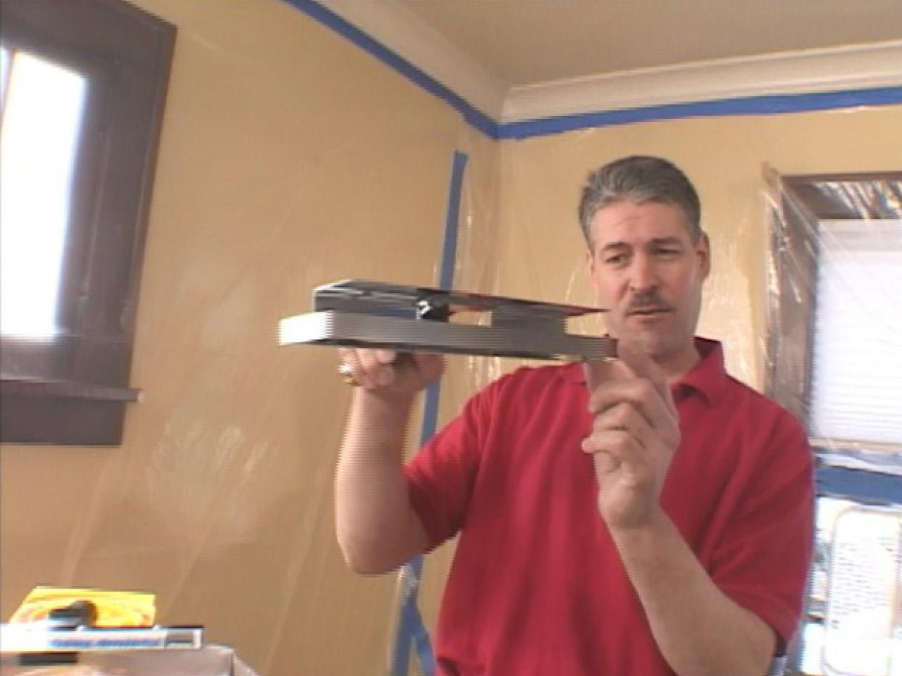 How to Remove a Popcorn Ceiling : how-tos : DIY