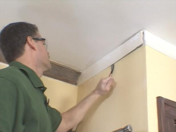 gently loosen and remove old molding