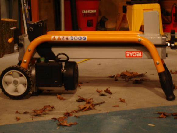 log splitter is useful tool for cutting firewood
