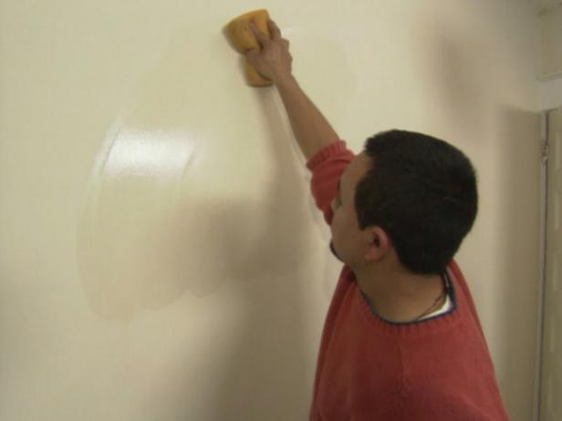 clean walls before installing wallpaper