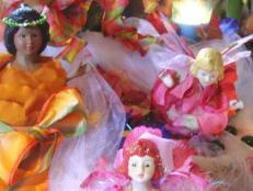 old dolls find new life as fairy flower dolls