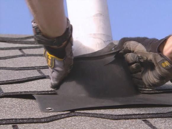 Make certain the roof boots fit snugly