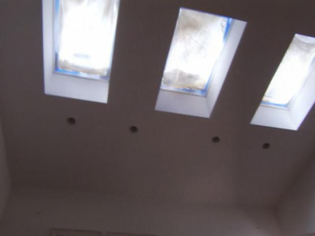 skylights add an architectural element