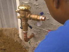 hire professional to install sprinkler system