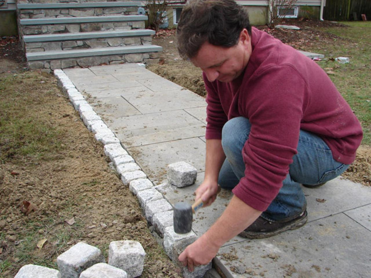 Cobblestones Set In Place