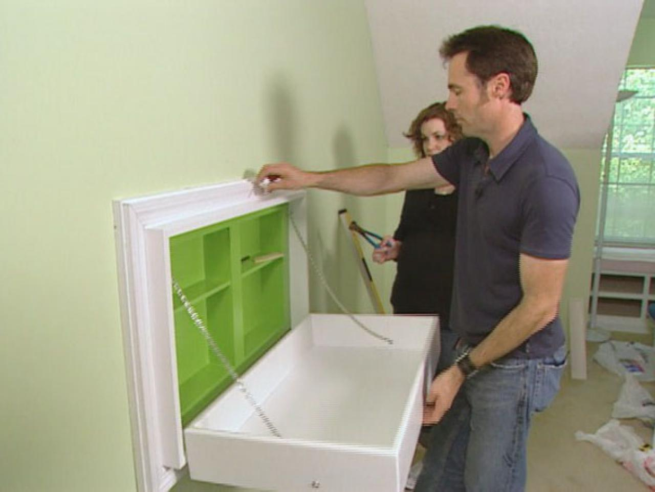 How To Build A Fold Away Changing Table How Tos Diy