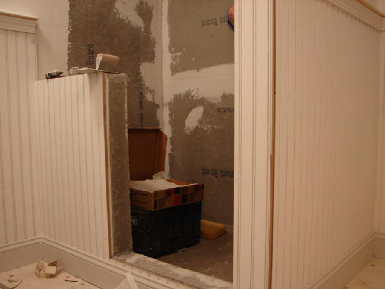 How to install tile in a bathroom shower how tos diy step 1 dailygadgetfo Gallery