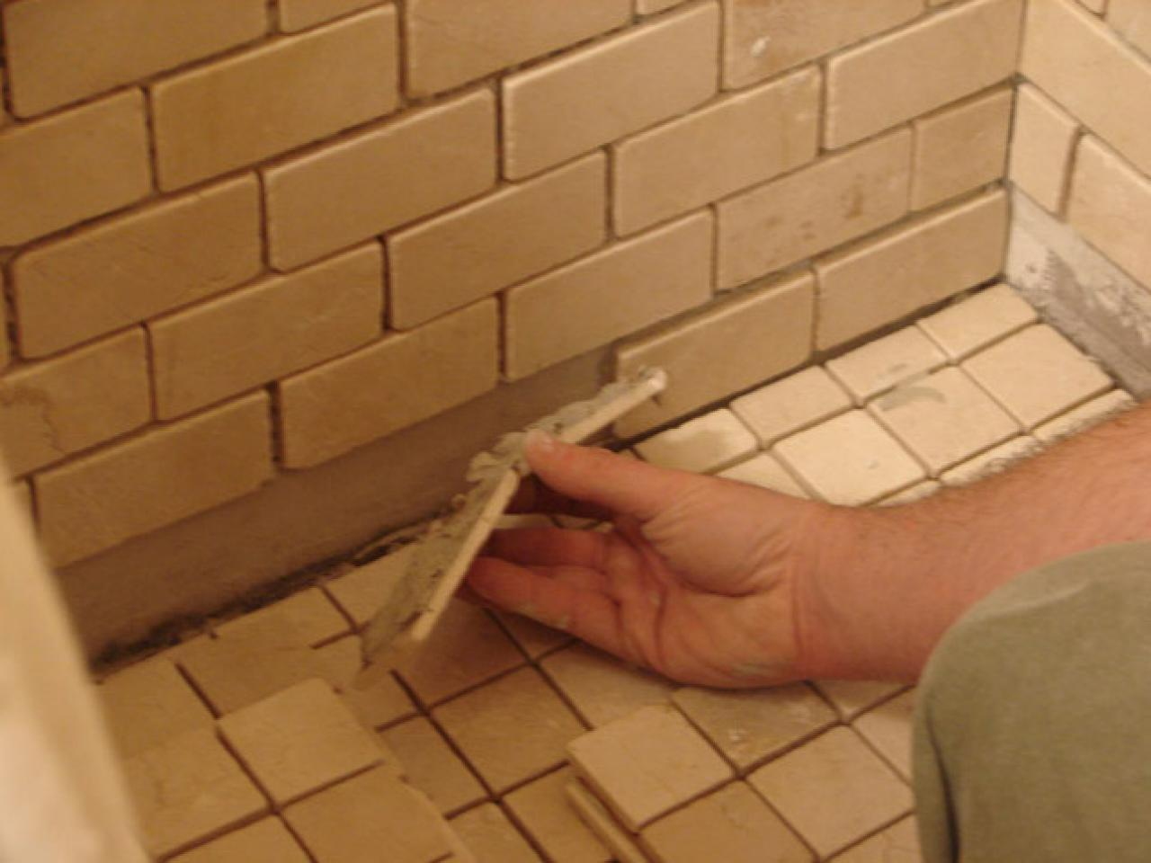 Diy bathroom tile - Step 8